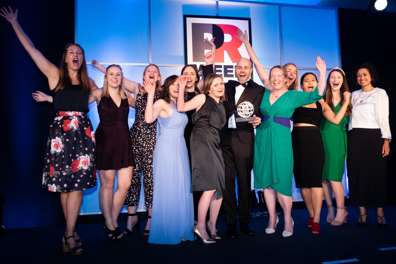 90TEN named Best Agency in Continental Europe at PRWeek Global Awards