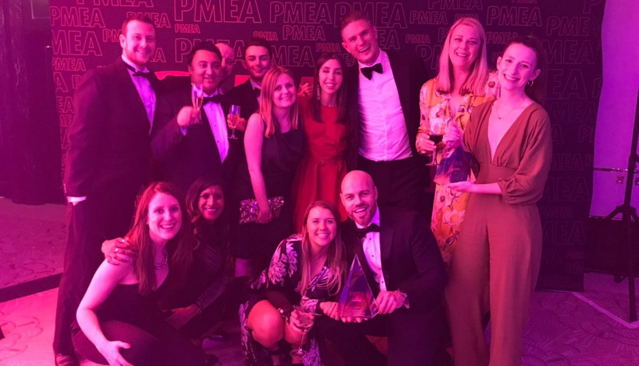 90TEN named Support Agency of the Year at the 2019 PMEA Awards